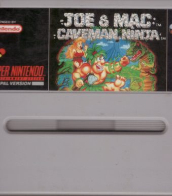 Joe and Mac - Caveman Ninja SNESCO100017