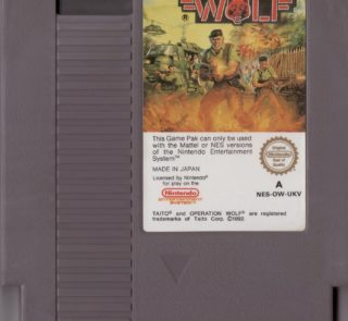 Operation Wolf - Take No Prisoners NESCO100041